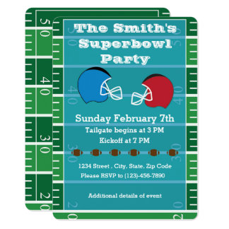 Superbowl Party Invitation