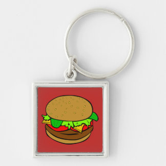 SUPERBURGER KEY CHAIN