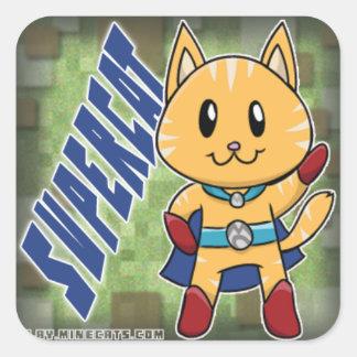 SuperCat Minecats Sticker