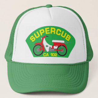 SuperCub Green Patch Hat