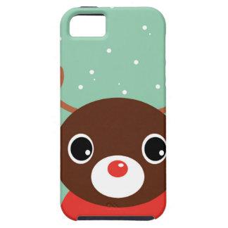 Supercute kids brown Reindeer iPhone 5 Cover