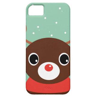 Supercute kids brown Reindeer iPhone 5 Covers