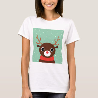 Supercute kids brown Reindeer T-Shirt