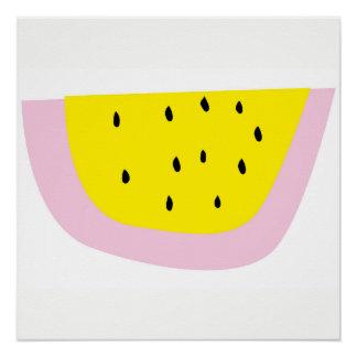 superCUTE watermelon poster