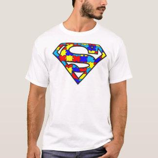 SuperDad Autism Aspergers Logo Mens Shirt