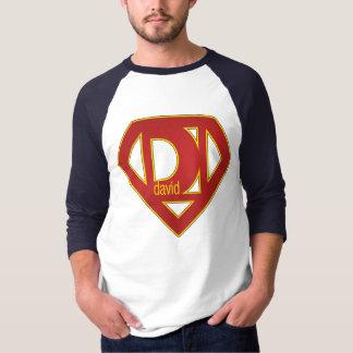 SuperDavid - 3/4 Sleeve T-Shirt