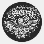 Superfly 2 round sticker