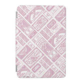 Supergirl Admit One Pattern Pink iPad Mini Cover