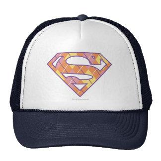 Supergirl Argyle Logo Trucker Hat