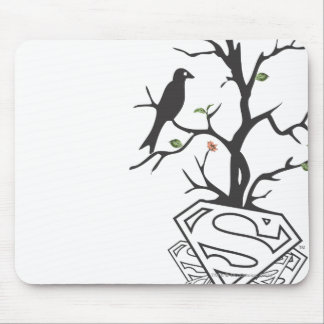 Supergirl Birds in the Tree Mouse Pad