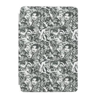Supergirl Black and White Collage iPad Mini Cover
