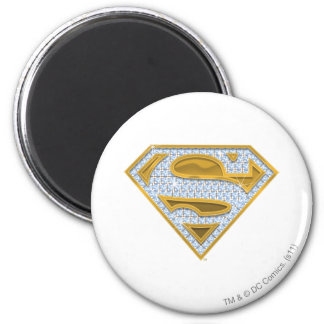 Supergirl Blue Jewels Magnets
