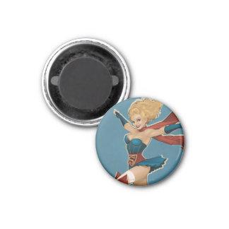 Supergirl Bombshell 1 Inch Round Magnet