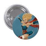 Supergirl Bombshell Button