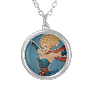 Supergirl Bombshell Custom Necklace