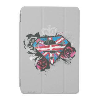 Supergirl British Flag and Roses iPad Mini Cover