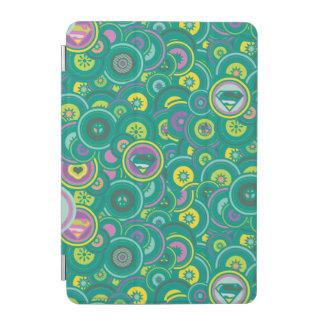 Supergirl Circle Green Pattern iPad Mini Cover