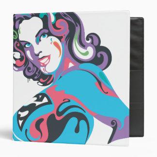 Supergirl Color Splash Pose 1 Vinyl Binder