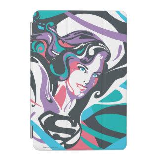 Supergirl Color Splash Swirls 2 iPad Mini Cover