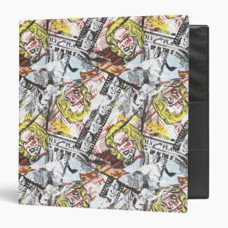 Supergirl Comic Capers Pattern 2 Binders