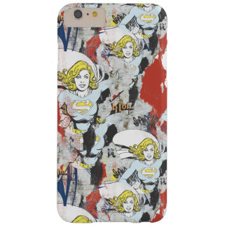 Supergirl Comic Capers Pattern 5 Barely There iPhone 6 Plus Case
