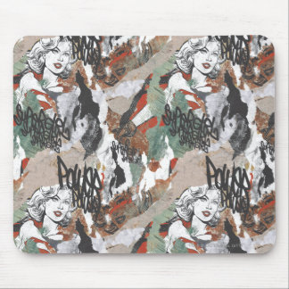 Supergirl Comic Capers Pattern 6 Mouse Pad