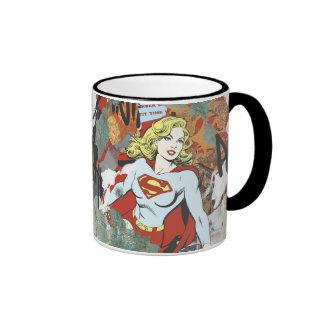 Supergirl Comic Capers Pattern 8 Mugs