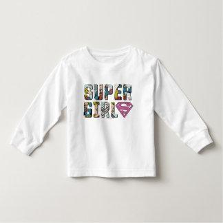 Supergirl Comic Logo Tee Shirt