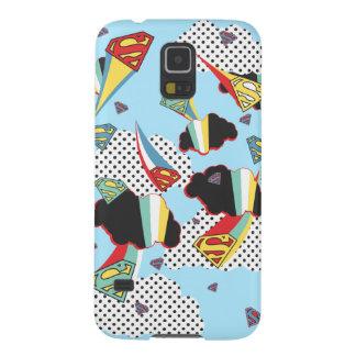 Supergirl Crazy Sky Galaxy S5 Cover
