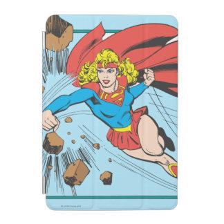 Supergirl Destroys Boulder iPad Mini Cover