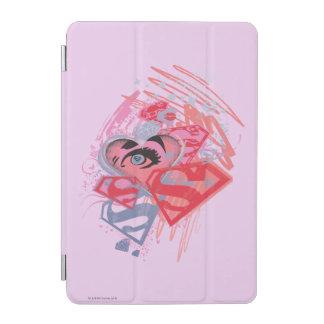 Supergirl Diamonds and Lips iPad Mini Cover