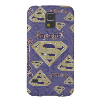 Supergirl Fancy Logo Collage Galaxy S5 Covers