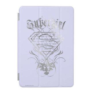 Supergirl Fancy Silver Logo iPad Mini Cover