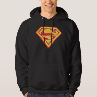 Supergirl Far-Out Logo Hoodie