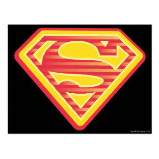 Supergirl Far-Out Logo Postcard