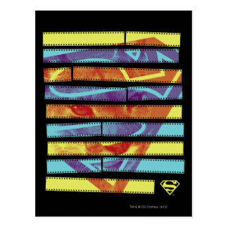 Supergirl Filmstrip Postcard