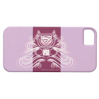 Supergirl Flourish Design iPhone 5 Case