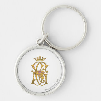 Supergirl Gold Crown Keychain