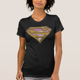 Supergirl Golden Logo T-Shirt