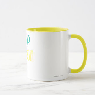 Supergirl Green and Yellow Mug