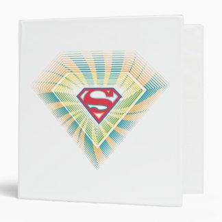 Supergirl Groovy Logo Binders