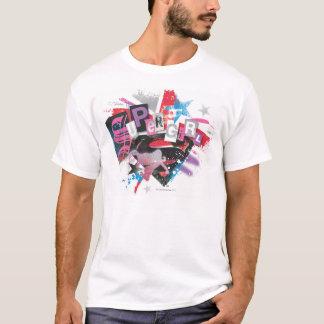 Supergirl Grunge Design T-Shirt