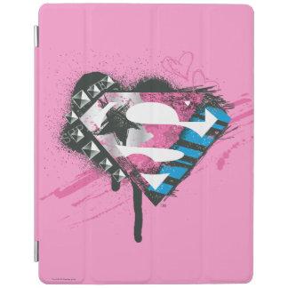 Supergirl Hearts Logo iPad Cover