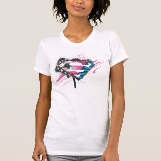 Supergirl Hearts Logo T-shirts