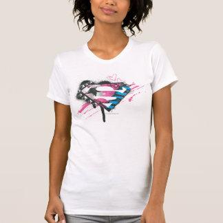 Supergirl Hearts Logo Tanktops