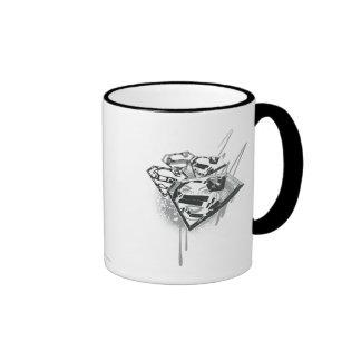 Supergirl Keep it Fresh 1 Ringer Coffee Mug