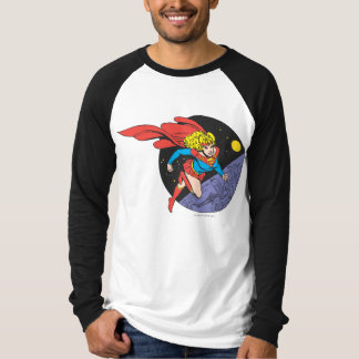 Supergirl Leaps in Space T-Shirt