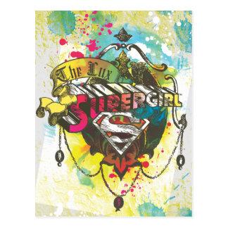 Supergirl Logo The Lux Postcard