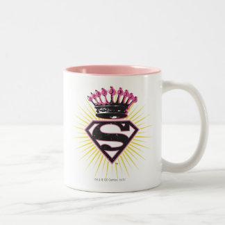 Supergirl Logo with Crown Mugs