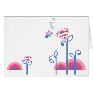 Supergirl Love Bee Card